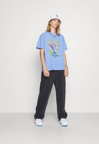 Vintage Supply - SEOUL GRAPHIC - Print T-shirt - blue - 1