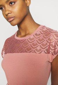 ONLY - ONLBILLA DRESS - Jersey dress - old rose - 4