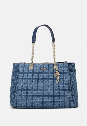 KAMINA GIRLFRIEND TOTE - Shoppingveske - denim
