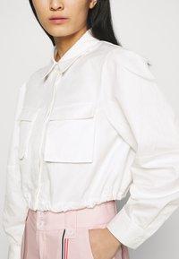 Mossman - THE SHADOW SHIRT - Button-down blouse - white - 5
