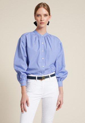 BRIOSI - Button-down blouse - celeste-blu