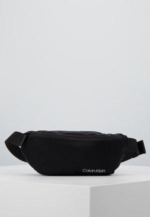 ITEM STORY WAISTBAG - Bum bag - black