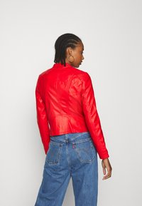 Vero Moda - VMFAVODONA - Faux leather jacket - goji berry - 2