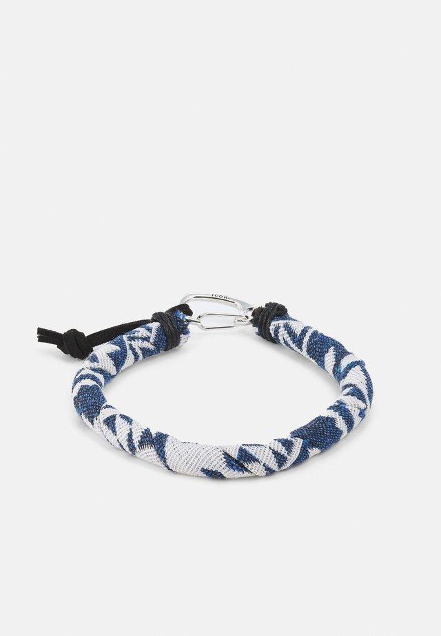 TRIBAL TECH BANDANA WRAP BRACELET - Bracciale - blue