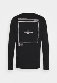 Zign - UNISEX - Long sleeved top - black - 2