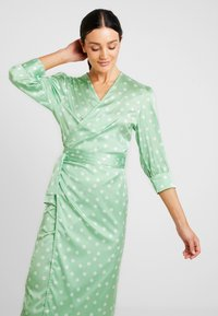 Aéryne - COWRY DOT DRESS - Day dress - mint - 3
