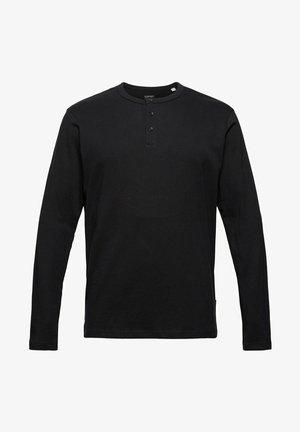 REGULAR FIT - Long sleeved top - black