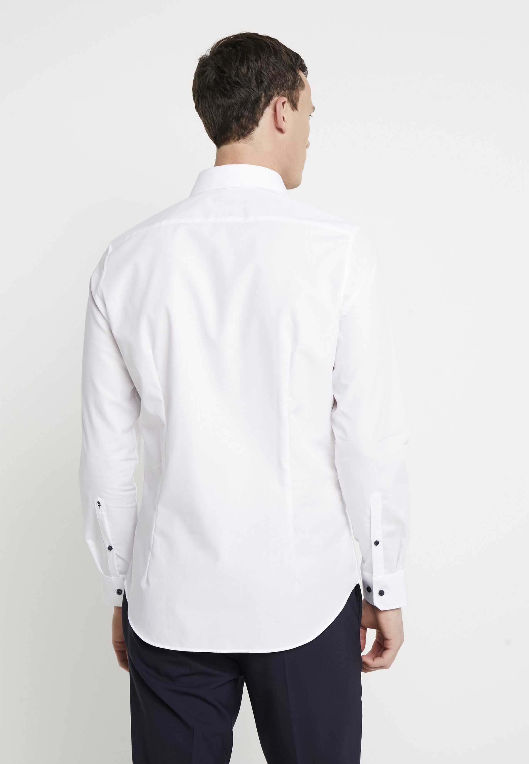 Seidensticker BUSINESS KENT PATCH SLIM FIT - Chemise classique - white