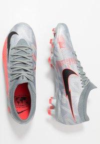 Nike Performance - MERCURIAL VAPOR 13 PRO FG - Fotbollsskor fasta dobbar - metallic bomber grey/black/particle grey - 1