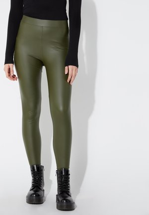 Leggings - Trousers - green helmet