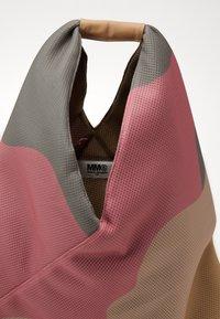 MM6 Maison Margiela - Shopping bag - beige/fuxia/yellow - 4