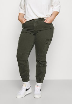 CARMISS LIFE - Cargo trousers - rosin