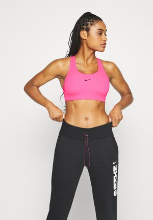 BRA PAD - Medium support sports bra - hyper pink