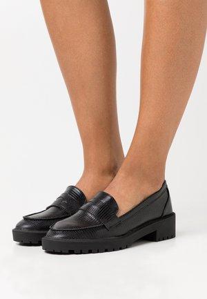 GENICA - Platform heels - black