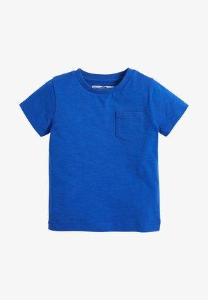 SHORT SLEEVE - Basic T-shirt - mottled blue