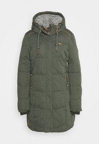 MERSHEL - Zimní kabát - olive