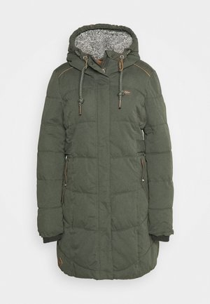 MERSHEL - Cappotto invernale - olive