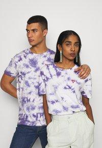 YOURTURN - T-shirt med print - lilac - 0