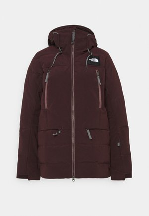 PALLIE JACKET - Skijacke - root brown