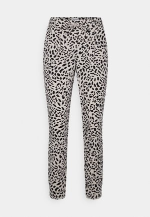 RIZETTA CROP PANTS - Teplákové kalhoty - cement mix