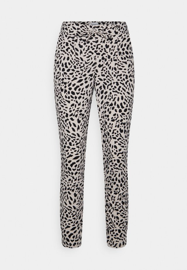 RIZETTA CROP PANTS - Tracksuit bottoms - cement mix