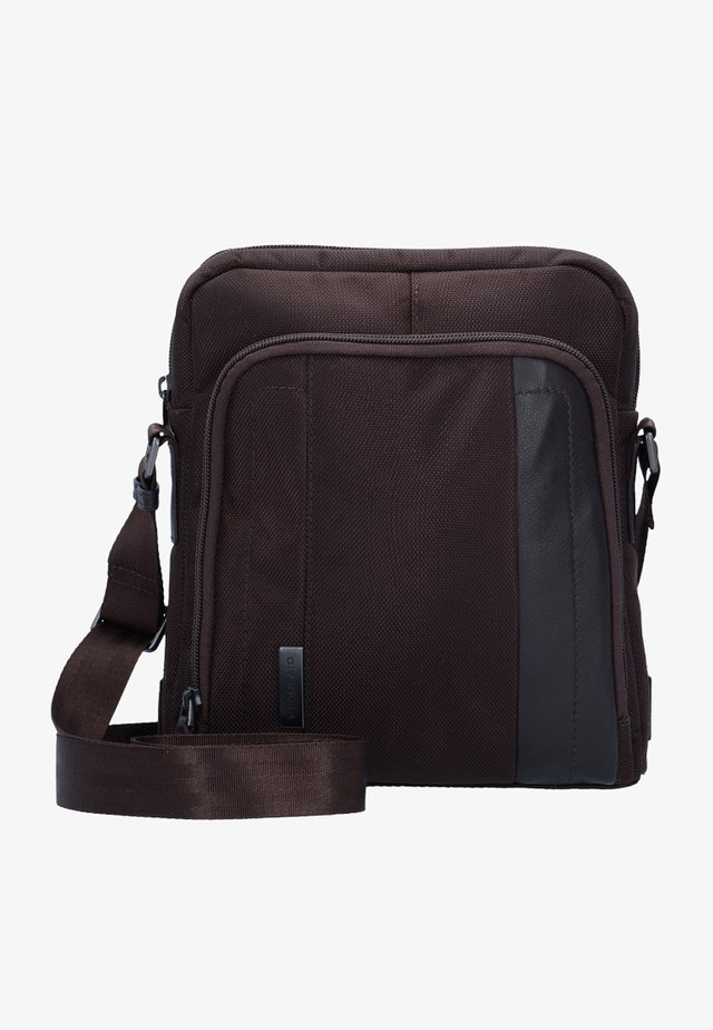 BORSELLO  - Across body bag - brown