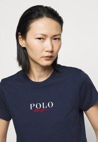 Polo Ralph Lauren - Print T-shirt - cruise navy - 4