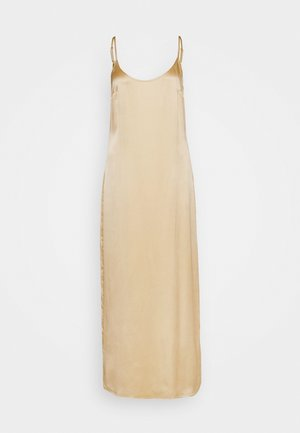 LONG SLIPDRESS - Negligé - beige stone