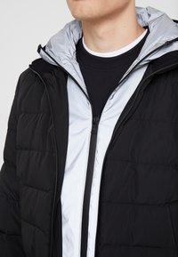 Neil Barrett BLACKBARRETT - HYBRID PADDED BOMBER - Down jacket - black / silver - 4