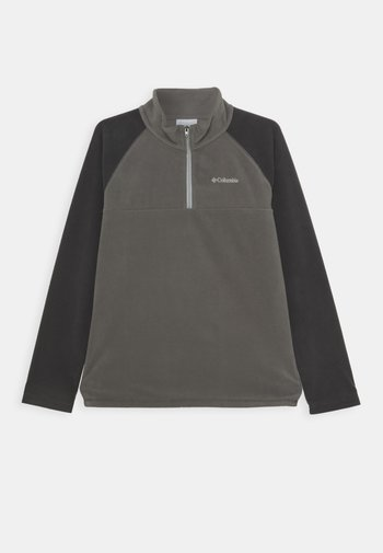 GLACIAL HALF ZIP UNISEX - Fleece trui - city grey/shark