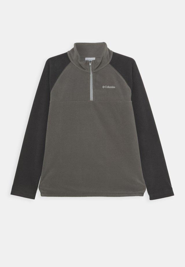 GLACIAL HALF ZIP - Fleece trui - city grey/shark