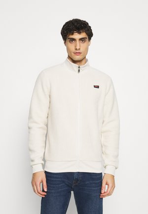 Fleece jacket - chalk white