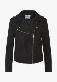 JDY - JDYPEACH BIKER - Faux leather jacket - black - 4