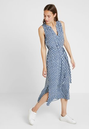 ZEN - Maxi dress - ikat blue