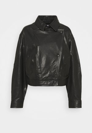 ALKAL  - Leather jacket - black