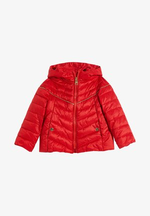 PADDED HOODED - Winter jacket - red