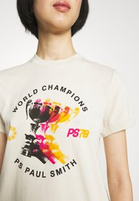 PS Paul Smith - WOMENS - Print T-shirt - beige - 3