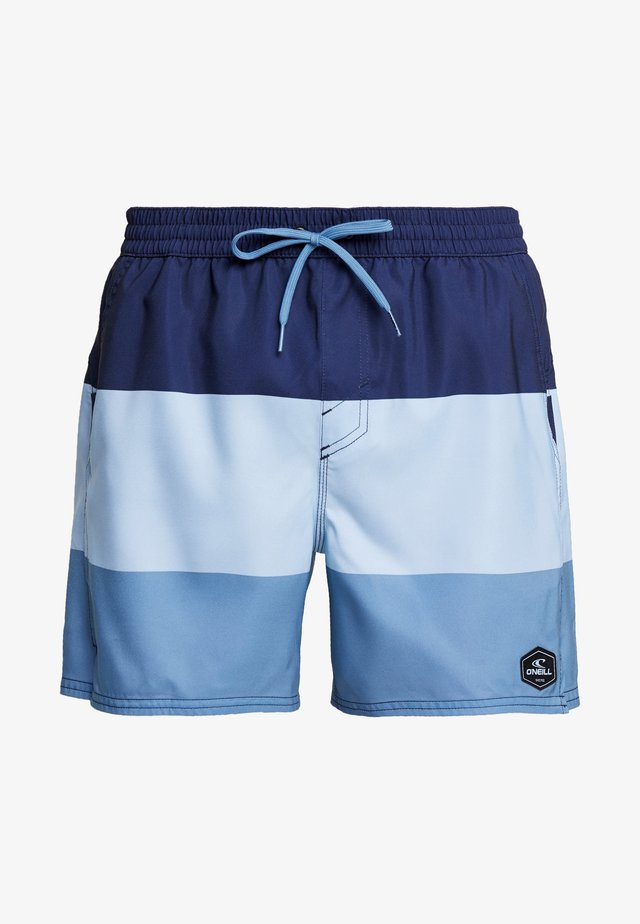 HORIZON  - Badeshorts - blue / white