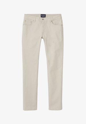 TIM 5-POCKET - Trousers - beige