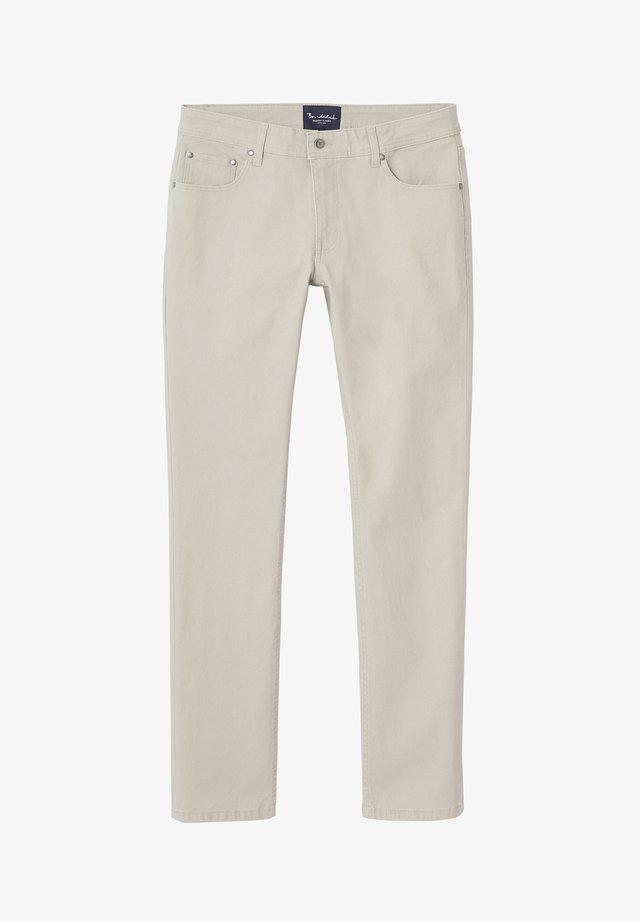 TIM 5-POCKET - Pantalon classique - beige