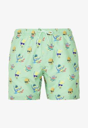 MINT FRUIT SNORKEL PRINT - Swimming shorts - green/multicolor