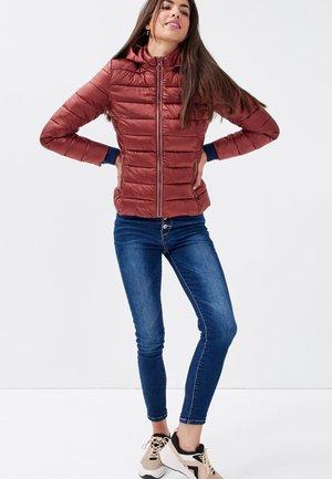 Winter jacket - marron cognac