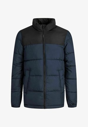 JJPAUL PUFFER COLLAR JR - Winter jacket - dark navy