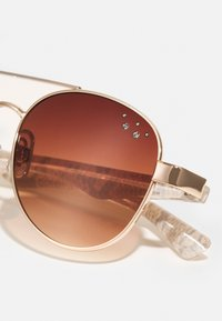 Name it - SUNGLASSES 2 PACK UNISEX - Sunglasses - gold colour/pack with black - 3