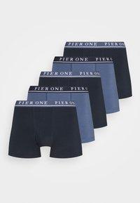 5 PACK - Underkläder - dark blue/blue