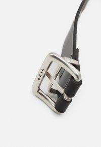 Carhartt WIP - LOGO BELT - Belt - black/silver-coloured - 2