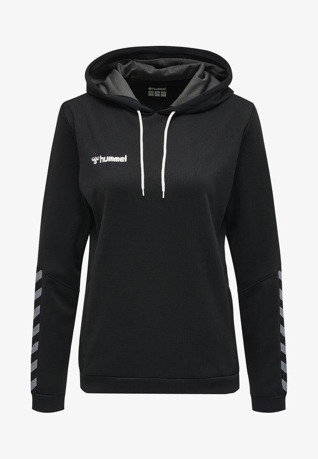 AUTHENTIC - Hættetrøjer - black/white