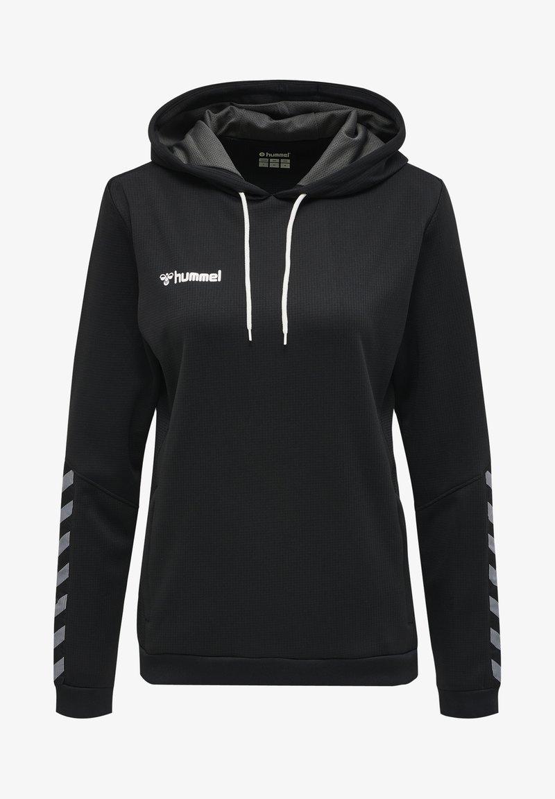 Hummel - AUTHENTIC - Hoodie - black/white