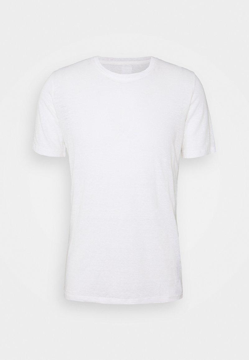 120% Lino - SHORT SLEEVE  - T-shirt basic - white