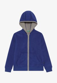 Benetton - JACKET HOOD - Fleecejakke - royal - 2